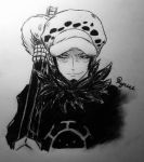 Trafalgar Law by RyuuOrigins