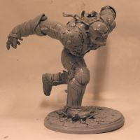 Colossus unpainted by SKBstudios