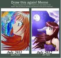 Draw this again - Meme by Malinya