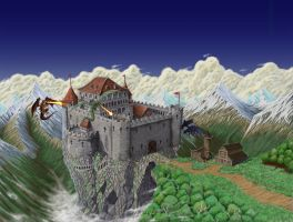 The Puke Boddingsdumb Castle by Iggy452001