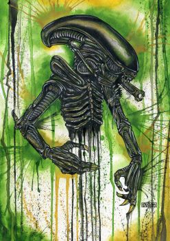 The Xenomorph by Jay-Allen-Hansen