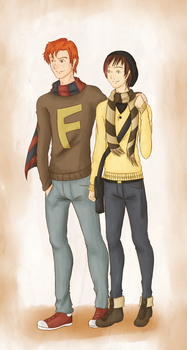 +Fred Weasley et Avery Kindheart+ by Sparvely