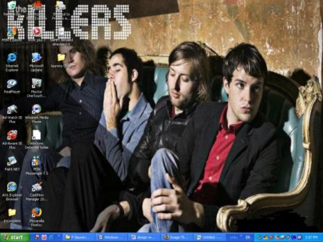 The Killers Wallpaper by leccah
