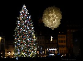 Let the show begin! - Strasbourg Xmas 2014 by Cloudwhisperer67