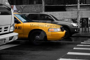 Taxi - New York City by MassimoCatarinella