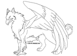 Gryphon by J-Dove