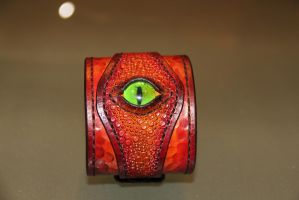 Dragon Cuff 2 by Red-Dragon-Lord