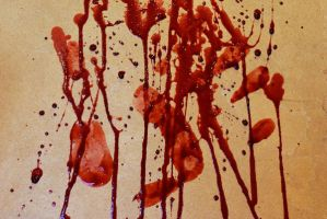 Blood Splatter 3 by KameleonKlik