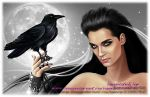 The Vampire and the Crow 2 by Beautiful-lie78
