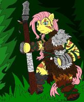 Fluttershy the Druid by McGreger16