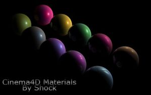 C4D Materials by GTI3