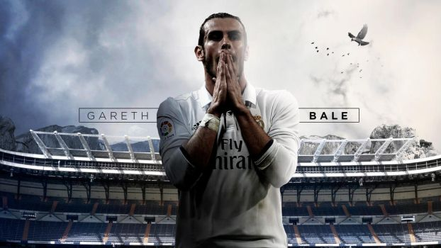 Gareth Bale 2016/17 Wallpaper by RakaGFX
