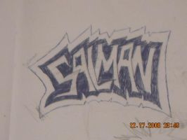 My name in grafftti by StaticFOOL100