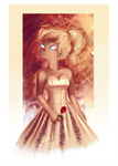 Beatrice and her Rose by MissFuturama