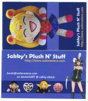 Sakky's Plush N Stuff Cards by sakkysa