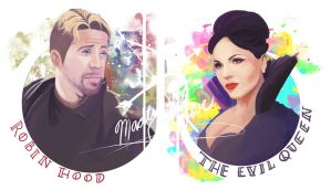 OUAT: Outlaw Queen by RoroZoro