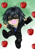 Chibi Mikami by shadow-of-regret
