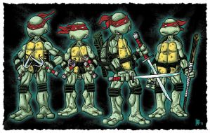 TMNT by incrediblejeremy