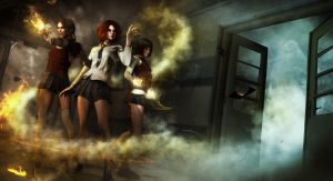 The Black Friers Witches by EStreet