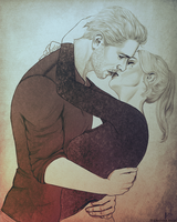 [Commission] Cullen and Mara by elyhumanoid