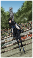 On the Edge of Glory by Jullelin