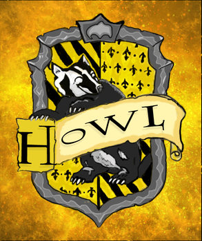 Point Commission Hufflepuff crest for Howl by Lost-in-Hogwarts