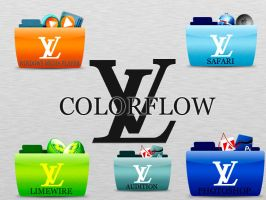 Louis Vuitton Colorflow Icons by FreddyBOfficial