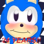 Happy 24 years of Sonic!!!! by bigsonicfanandN