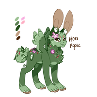 Moss Agate gemmy POINT AUCTION /CLOSED by Neonigma
