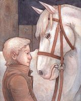 Thesis: the Boy and the Horse by emla