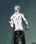 Grimmjow by MarkDenisov