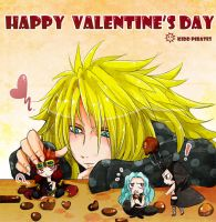 Happy Valentine's day - KIDD PIRATES by youkokurama1