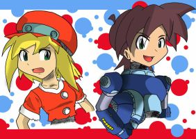 Rockman Legends by CronoCain