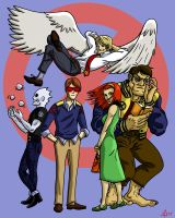 X-Men:  First Class by toekneearrows