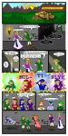 Ocarina of Time + Four Swords by amascusmage