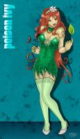 Batman Series: POISON IVY by docktorbob