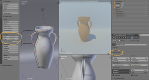 Blender Curves: A cliched example by eelstork