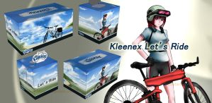 Let's Ride Kleenex Boxes by Anomonny
