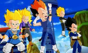 My new team in dragon ball fusions by MLPfimAndTMNTfan