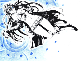 Black Rock Shooter by Poch4N