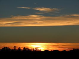 Firey Lines in the Sky... by Michies-Photographyy