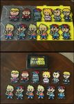 Earthbound Small Character Perler Sprites by jnjfranklin
