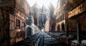 Abandoned city by aperson4321