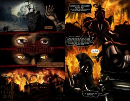 Unnaturals comic book try out, pages 3-4 by evergard