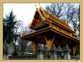 The Thai Sala in Bad Homburg by Anupap