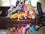 Ponies set for Everfree NW by NerdyKnitterDesigns