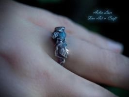 Lhun Ethuil silver ring by Gwillieth