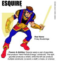 Esquire bio-concept by LegacyHeroComics