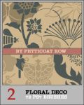 Floral Deco PS7 Brushes by petticoatrow