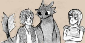 HTTYD : everyone love Hiccup by Rhodesk